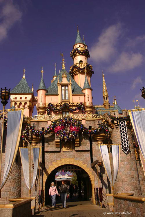 Christmas Decorations at the Disneyland Resort
