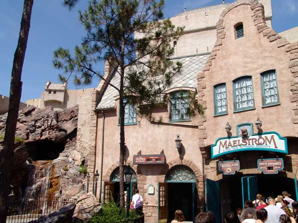 Maelstrom ride norway epcot