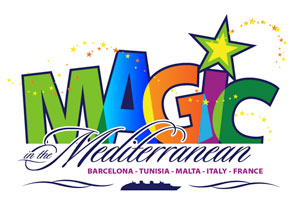 Magic in the Mediterranean Disney Cruise Logo