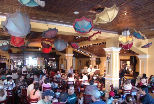 Ralph Brennan\'s Jazz Kitchen Menu, Downtown Disney