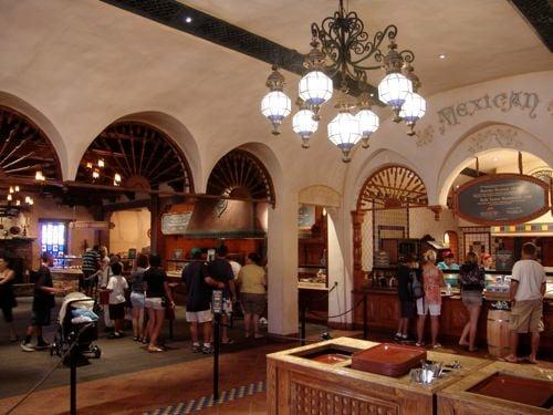 Rancho Del Zocalo Restaurante Menu Disneyland Park