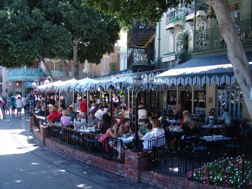Cafe Orleans Menu Disneyland Park