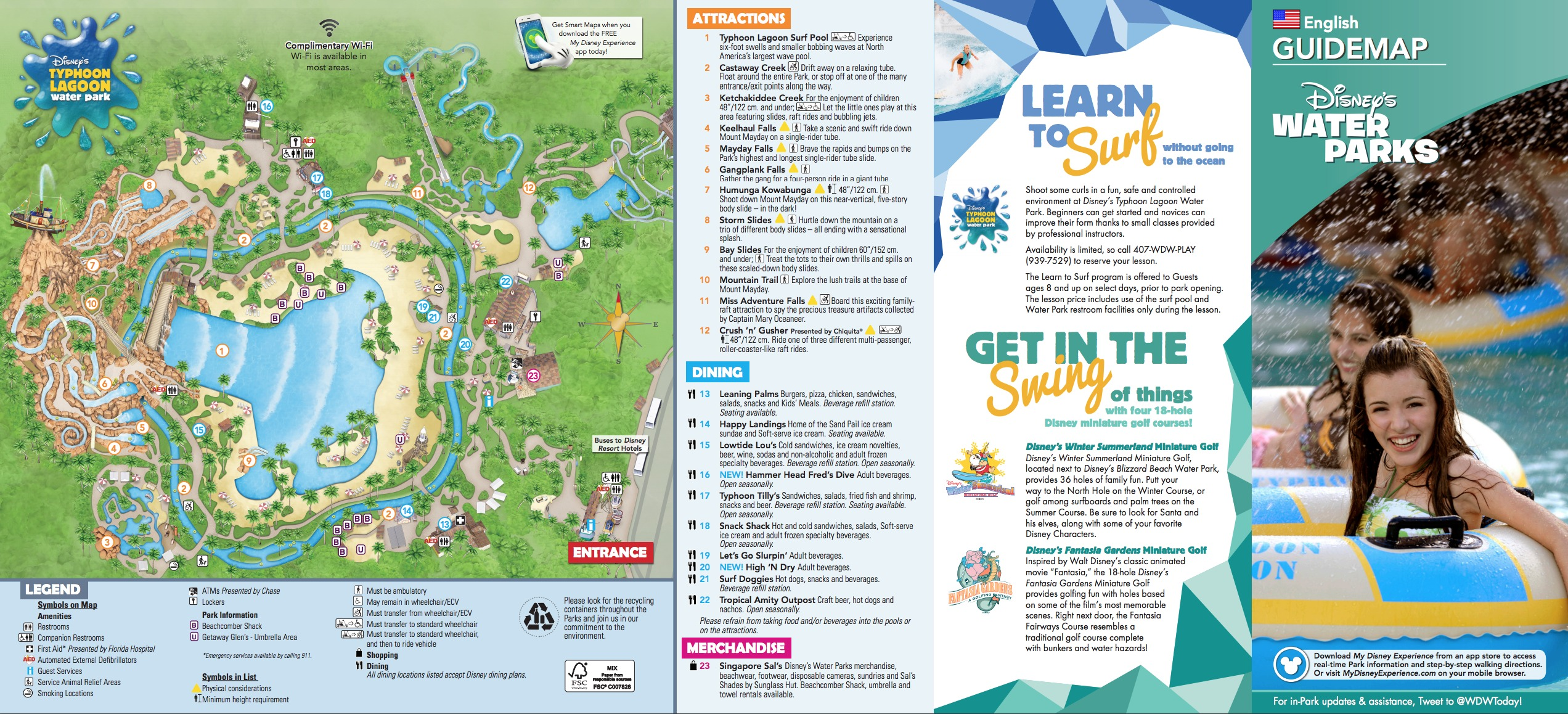 Typhoon Lagoon Map Disney's Typhoon Lagoon Water Park Map Typhoon Lagoon Map