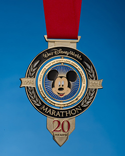 20th Anniversary Medal