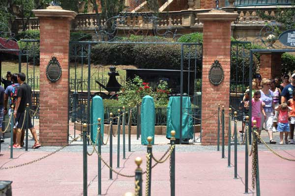 Haunted Mansion's RFID Scanners