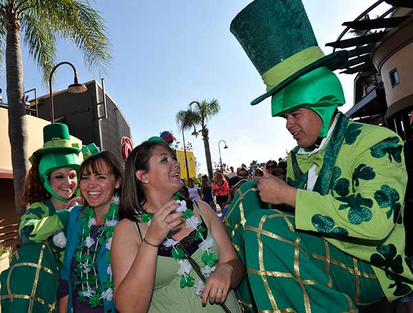 Downtown Disney celebrates St. Patrick's Day