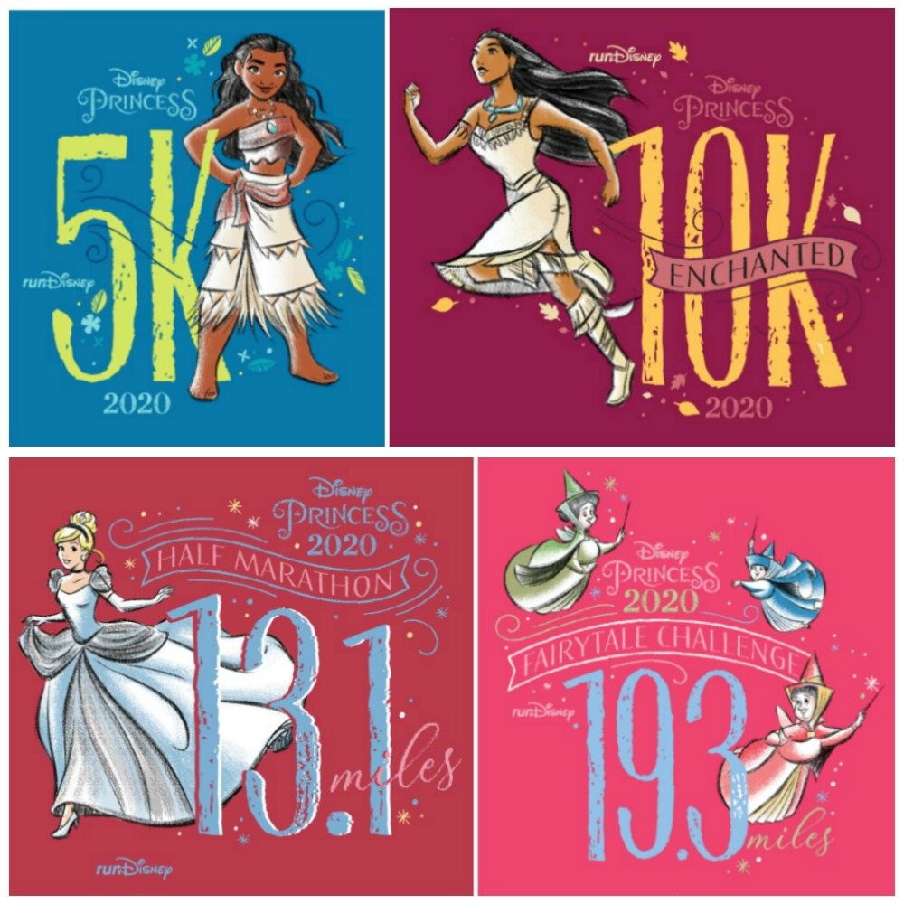 Princess Half Marathon Themes